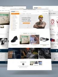 Izdelava spletne trgovine Stayer safety